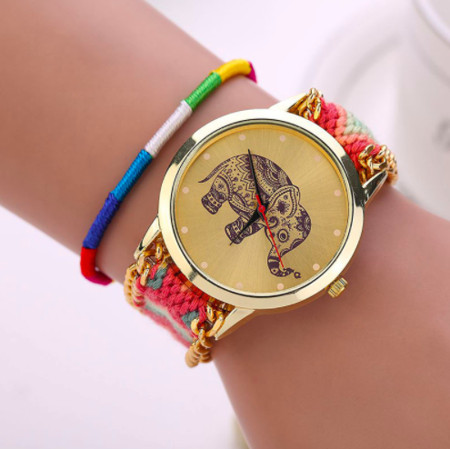 Handmade Elephant Watch Giveaway