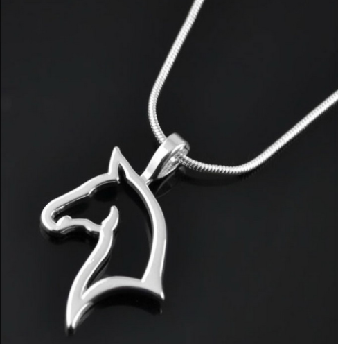 Silver Horse Necklace Giveaway
