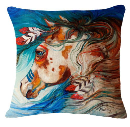 Horse Pillow Covers Giveaway