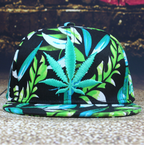 Multicolor Cannabis Snapback Giveaway