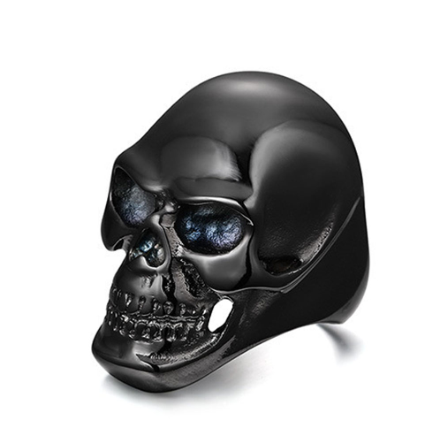 Stainless Steel Skull Ring Giveaway