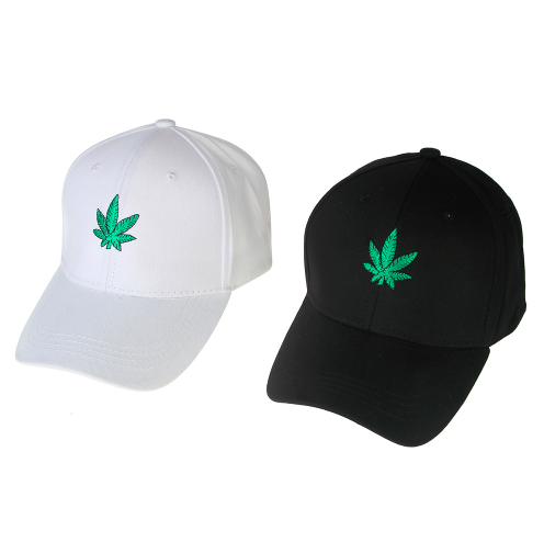 Weed Leaf Baseball Caps