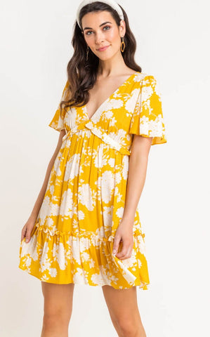 ELLE LAIN - LEMON BRIGHT DRESS
