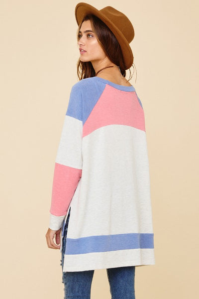 ELLE LAIN - COLORBLOCK TUNIC