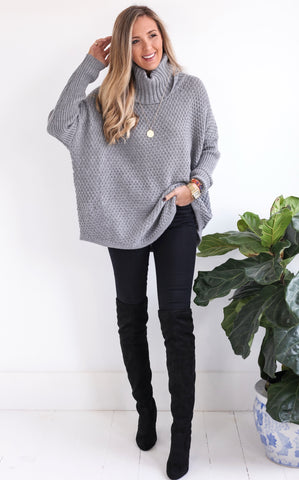 ELLE LAIN - BREKIN SWEATER - GREY