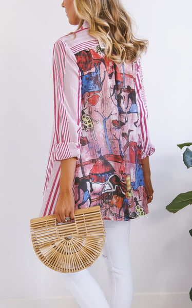 SPRING TRIBAL TUNIC