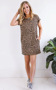 ELLE LAIN - LAZY DAY LEOPARD DRESS