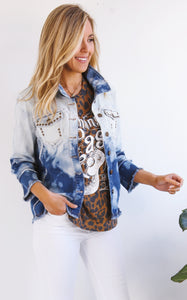 OMBRE DENIM JACKET