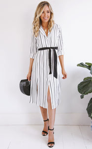 ELLE LAIN - TRIANA STRIPE DRESS