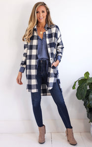 PURCEY PLAID DRESS