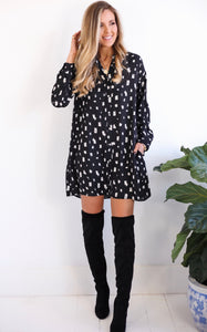 ELLE LAIN - BECCA SHIRT DRESS