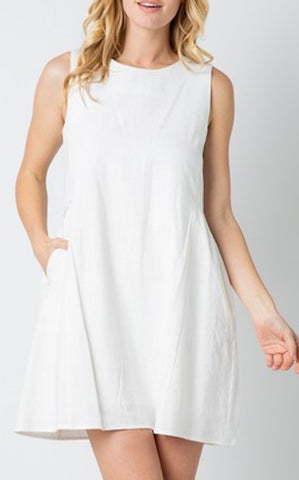 ELLE LAIN - JANNA DRESS - IVORY