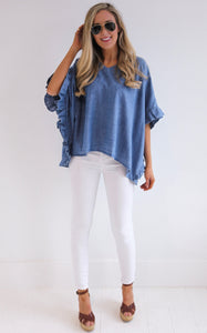 DANI DENIM TOP