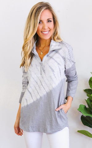 BRIDGEPORT PULLOVER - GREY