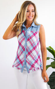 THUNDERBIRD PLAID SHIRT