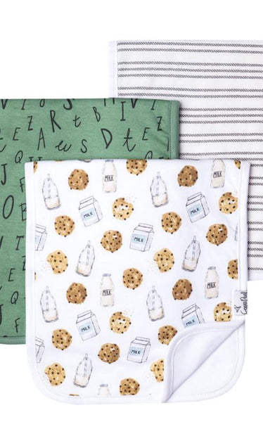 PREMIUM BURP CLOTHS - TICKING