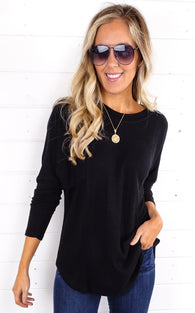 TOASTY TOP - BLACK