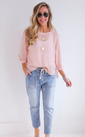 CORAL REEF KNIT