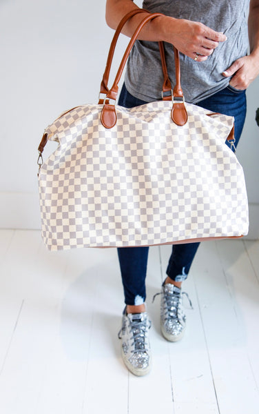 ELLE LAIN - CHECKERED WEEKENDER