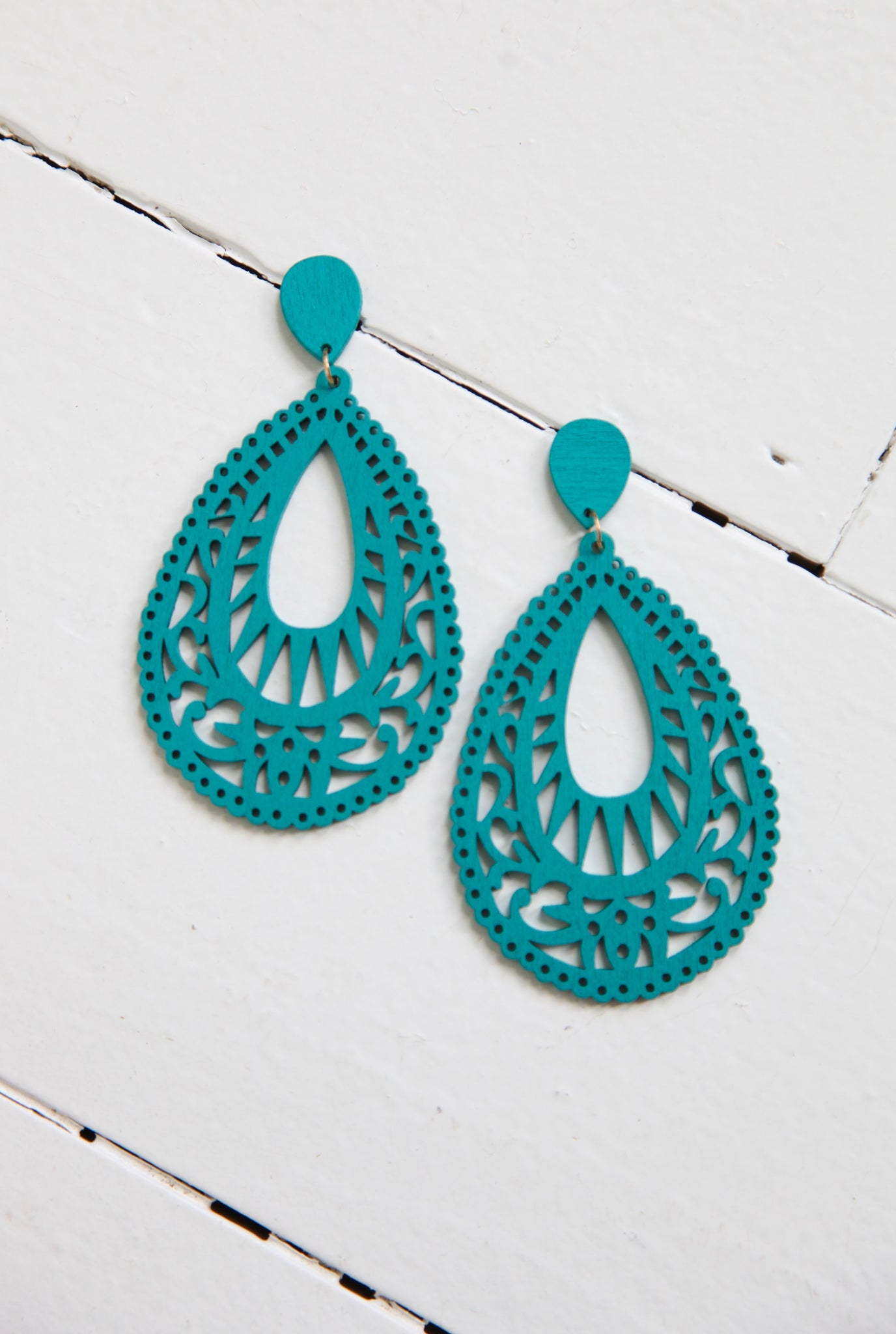 DURANGO EARRINGS - TEAL