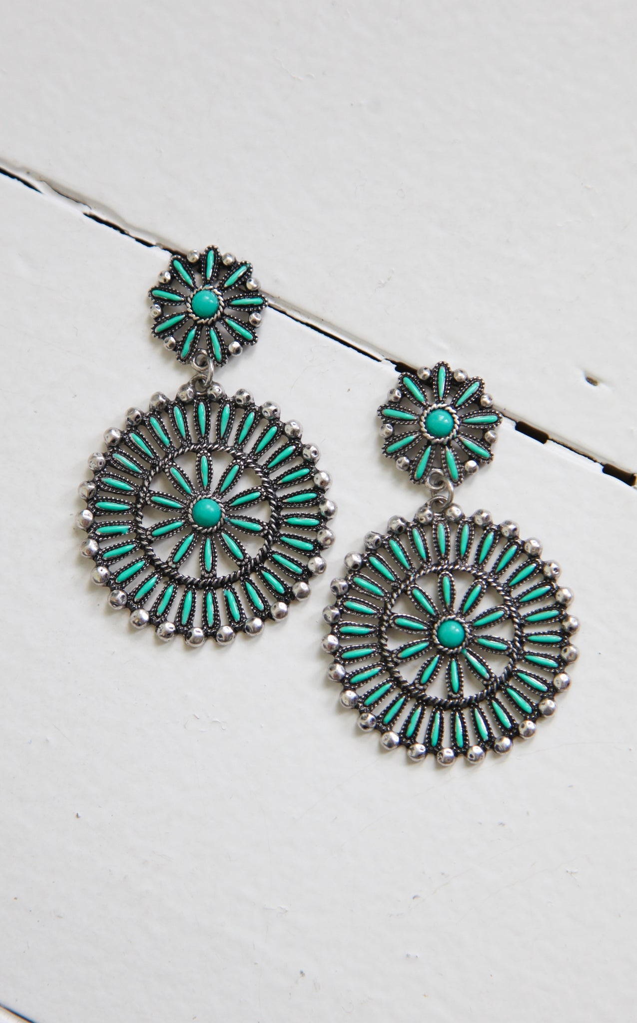 ZUNI LOVE POSTS - TURQUOISE