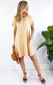 ELLE LAIN - GOLDIE TEE DRESS