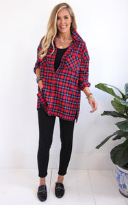 KAILEY FLANNEL - RED