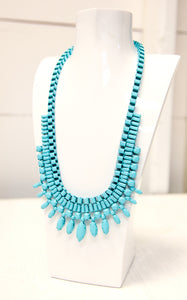 CANNA TURQUOISE NECKLACE