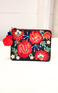 ANIKA POUCH - RED