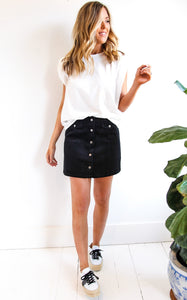 ELLE LAIN - GEORGIA SKIRT - BLACK