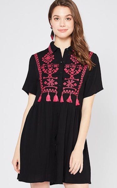 DARLA TASSEL DRESS
