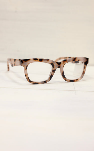 JJ LEOPARD READING GLASSES