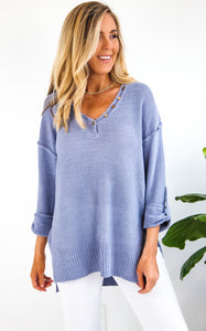 ELLE LAIN - FAVORITE KNIT - CHAMBRAY