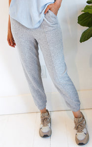 ELLE LAIN - BRONX JOGGER - HEATHER GREY