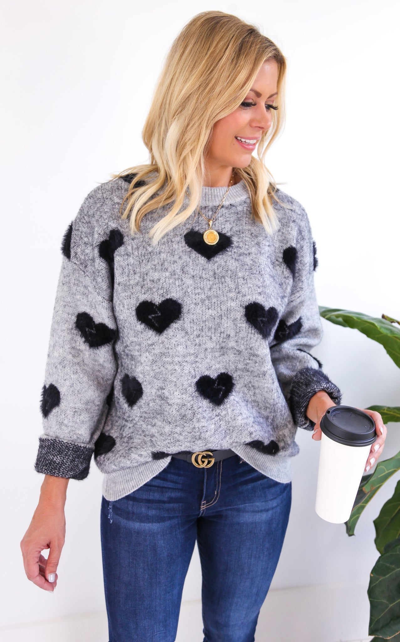 BLACKHEART SWEATER