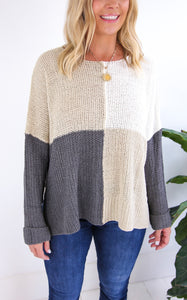 PATCHED LOOSE KNIT