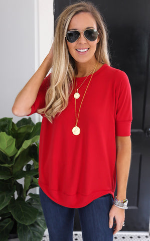 STYX TOP - RED