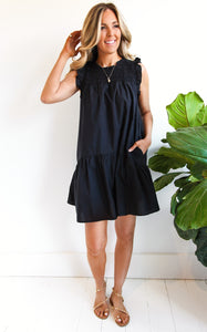ELLE LAIN -HADLEIGH DRESS - BLACK