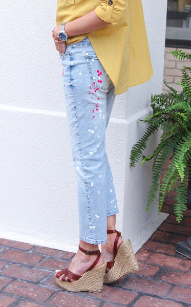 PAINT SPLATTER JEAN