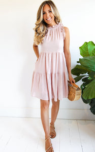 WESTSIDE SWING DRESS - ROSE