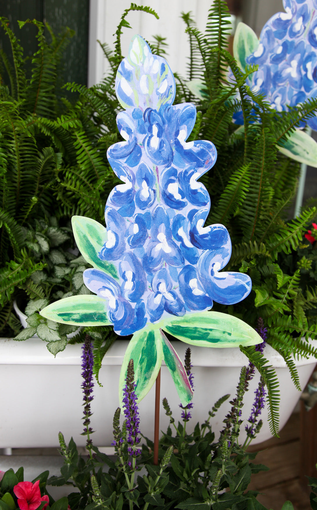 BLUEBONNET STAKE - INCLUDES ADDITIONAL SHIPPING