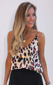 ELLE LAIN - PARTY LEOPARD TOP