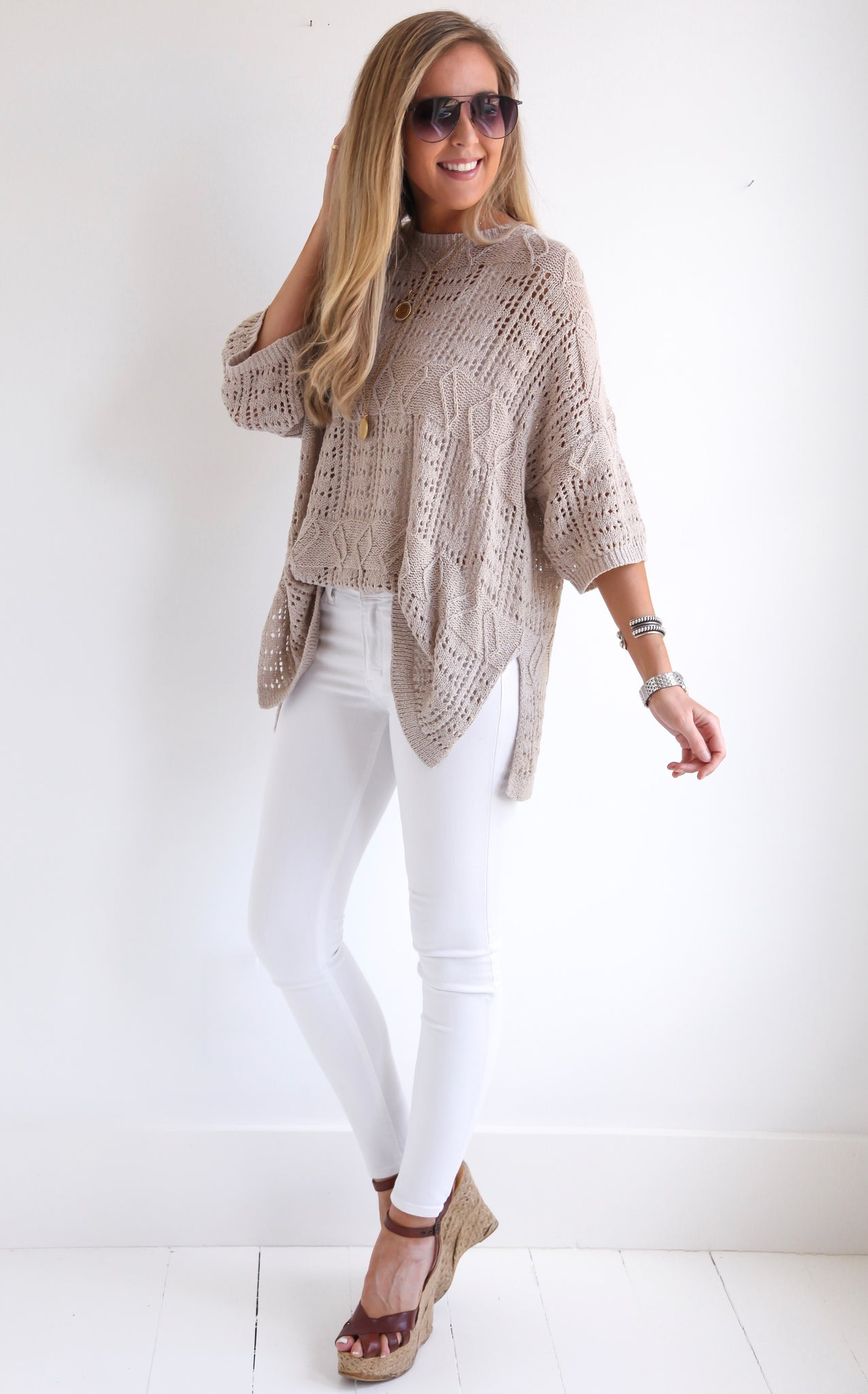 LAUREN LACE KNIT