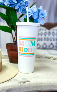 MOM MODE 22oz TUMBLER - INCLUDES ADDITIONAL SHIPPING COST