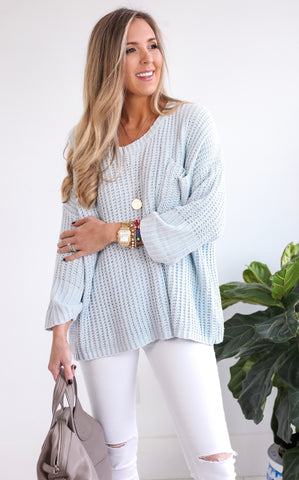 ICE ICE BABY SWEATER - MINT
