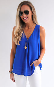 ELLE LAIN - PEARLA TOP - ROYAL