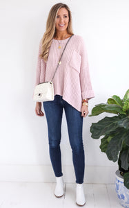 ICE ICE BABY SWEATER - PINK