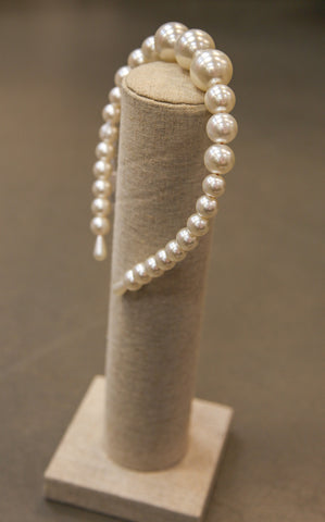 OVERSIZED PEARL HEADBAND