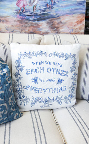 EACH OTHER PILLOW
