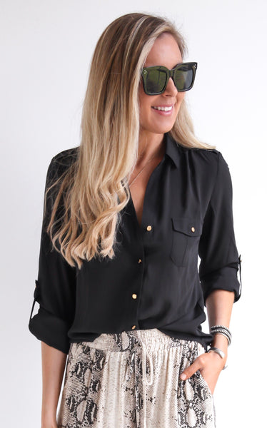 ELLE LAIN - KENSLEY BUTTON DOWN